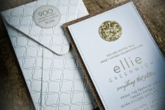 Love these invites!! / Berkley Wedding Letterpress and Invitations: Twig & Fig