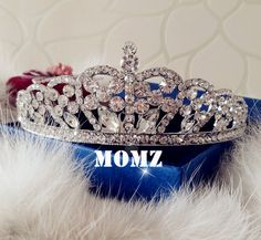 Free Shipping Fashion bride Hair Accessories Fine Crystal RHINESTONE Pincess Tiaras Crowns Wedding Party Prom Evening-in Hair Jewelry from Jewelry on Aliexpress.com