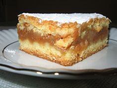 szarlotka More - Torte Polish Desserts, Polish Recipes, No Bake Pies, No Bake Cake, Apple Cake Recipes, Baking Recipes, Sweets Cake, Russian Recipes, Breakfast Dessert