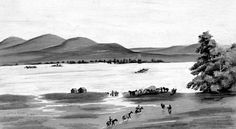 many pioneer drowned while attempting these crossings and were buried along the river Great Lakes Region, Oregon Trail, Bury, United States, River, Adventure, Mountains, Berry, Adventure Game