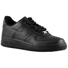 detailed pictures 79835 b3e24 Black Nikes, Black Nike Shoes, Air Force 1, Air Force Ones, Nike