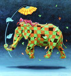 Elephant II, by Cláudio Souza Pinto