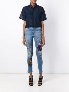 Ermanno Scervino Calça Jeans Skinny - Russo Capri - Farfetch.com