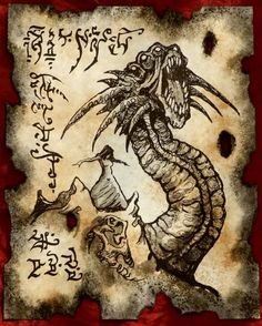 Items similar to TITAN WORM Cthulhu larp Necronomicon page Scroll Magick occult witch on Etsy Necronomicon Lovecraft, Lovecraft Cthulhu, Cthulhu Art, Hatch Drawing, Masonic Art, Lovecraftian Horror, Call Of Cthulhu, Demonology, Dark Fantasy