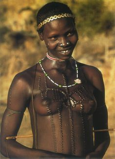 nubian tribes of africa | Some types of scarification are used to distinguish those who believe ...