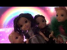 Mal and Evie's magic sleepover at Elsa's castle P3   Descendants Anna an...