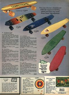 Christmas Catalogs, Christmas Books, Vintage Skateboards, My Childhood Memories, Growing Up, The Past, Product Ads, 1970s, Nostalgia