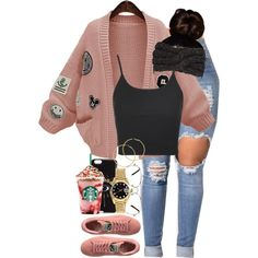 A fashion look from October 2016 featuring WithChic cardigans, Topshop tops and Rolex watches. Browse and shop related looks.