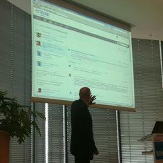 Dirk Kolassa zum Aufbau eines digitalen Arbeitsplatzes bei Alcatel-Lucent #iom12 ^bg