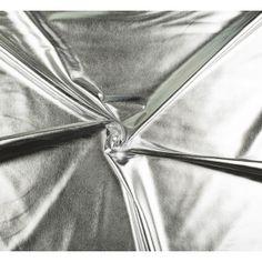 Látka polyesterový úplet strieborný Textiles, Fabrics, Textile Art