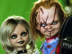 Seed Of Chucky - Publicity still. The image measures 3000 * 1996 pixels and was added on 15 March Chucky Halloween, Halloween Kids, Halloween Face Makeup, Halloween Crafts, Halloween Costumes, Zombie Movies, Scary Movies, Chucky And Tiffany Costume, Child's Play Movie