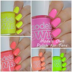 Models Own Polish for Tans Collection