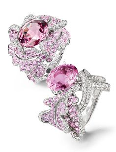 Rosamaria G Frangini | High Pink Jewellery | Chaumet rings