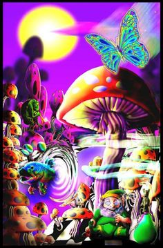 trippy hippy 1 fantasy picture and wallpaper
