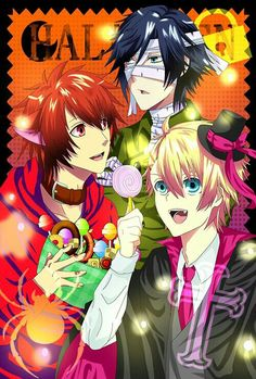 Otoya, Syo and Tokiya - Halloween