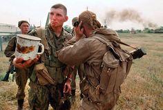 Russian VDV commandos, first Chechen War through Alexander Nemenov's lens.