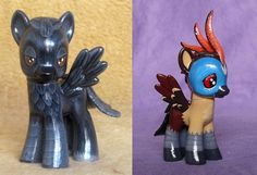 CUSTOM ORDER: My little pony G4 Pegasus pet or wildlife portrait