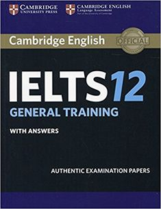 16 best cambridge ielts images on pinterest cambridge ielts cambridge ielts 12 general training book is available for free download in pdf format download fandeluxe Gallery