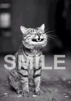 This is how I smile