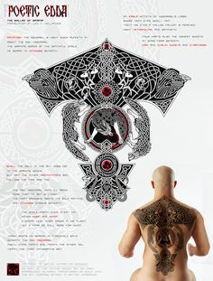 Yggdrasil Tattoo - Poetic Edda