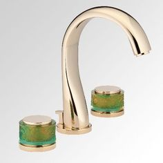 Nice Island Washbasin Faucet By THG With Daum Crystal