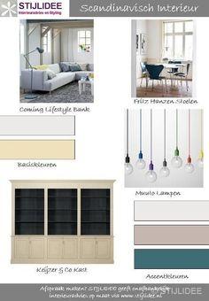 Moodboards Woontrends | Scandinavisch Interieur via www.stijlidee.nl