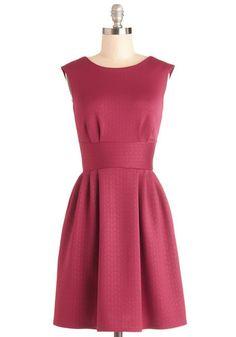 Boy Oh Boysenberry Dress, #ModCloth