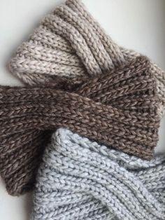 Hand knit alpaca Headband Turban Knit Turban Knit Winter Headwrap
