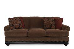 Ashley Elnora Umber Sofa | Mathis Brothers Furniture