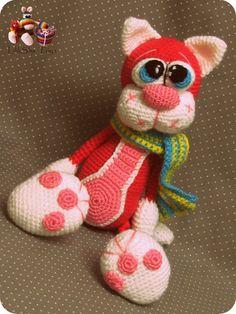 Amigurumi Pattern - Cherry Cat on Etsy, 4,92€
