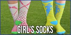 Girl's lacrosse socks from chalktalksports.com