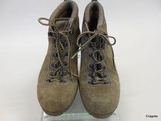 Vintage Cortina Shoes Hobo Hiking boots! Vibram soles #Cortina #Boots