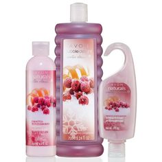$18 Value Immerse yourself in the holiday spirit with the scents of festive red currant, zesty orange peel and frosted blackberry. Set includes:Hydrating Shower Gel - 5 fl. oz. A $4 value.Body Lotion - 8.4 fl. oz. A $6 value.Bubble Delight Bubble Bath - 24 fl. oz. An $8 value.
