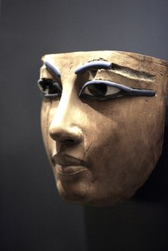 London museum, from ancient egypt coffin. Probably 18 th dynasty. I´ve seen it in RL, one of the most beautiful faces I´ve seen