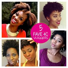 My Fro  I : A South African Natural Hair Blog: My Favourite 4C Natural Hair Vloggers