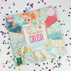 Latest First Edition paper pad- Paradise Crush designed by Louise Tiler
