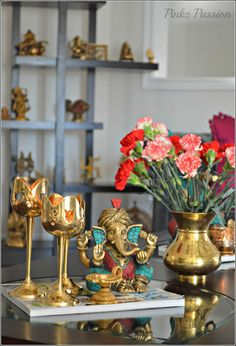 like this look with ganesha and hanging lamps Decor Pinterest