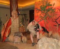 Safari Party Theme Decorations | we are expert event planners and producers and set decorators and art ...
