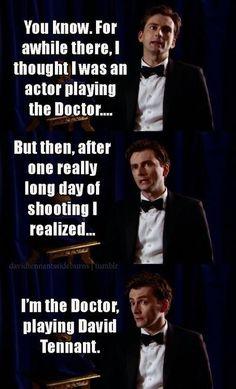 Hahaha I love David tenant