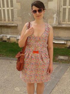 Robe à fleurs Atelier Albertine par @Mademoiselle Modeuse