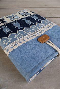Apple iPad Sleeve Case padded denim handmade wooden by sandrastju, $32.00