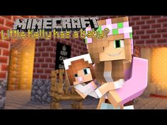 Minecraft - LITTLE KELLY HAS A BABY?! - YouTube