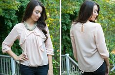 Emily Bow Blouse - 3 Colors Available! 57% off at Groopdealz