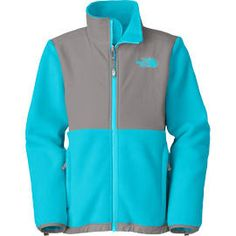 The North Face Denali R Turquoise Blue XL Girls Jacket