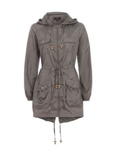 Ladies Lightweight Parka Jacket - JacketIn