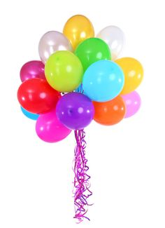 Balloons 12 inch balloons Assorted Colored by ThePartyGnome