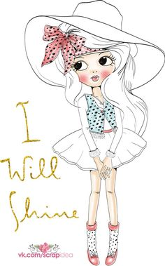 Walking by faith and not by sight Girl Cartoon, Cute Cartoon, Cartoon Drawings, Cute Drawings, Image Girly, Art Mignon, Cute Girl Drawing, Illustration Girl, Paper Dolls