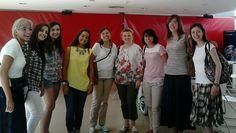 Grupo voluntarias con Arancha