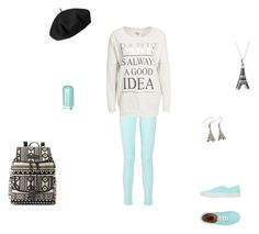 """a day in paris"" by emilyk217 ❤ liked on Polyvore"