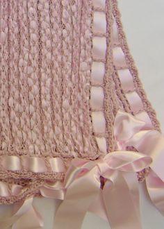 Heirloom Baby Blanket Detail